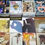 アート関連の本、雑誌、ムック